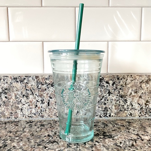 Starbucks Recycled Glass Grande Cold Cup, 16 Fl Oz